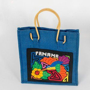 New Artisan made Panama tote Bag
